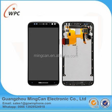 LCD display+touch screen digitizer+frame for MOTO X style