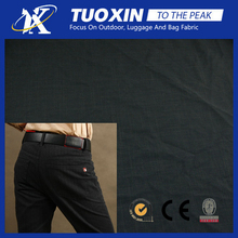 polyester casual pants fabric gabardine twill trousers slacks material