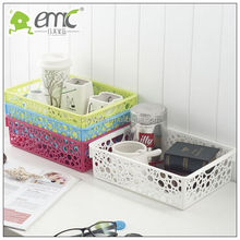 plastic basket ,square basket,storage basket plastic baskets for classroom