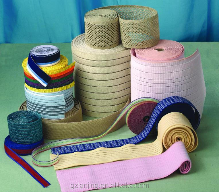 Colored Nylon binding elastic webbing