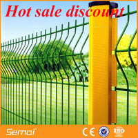 PVC Coated Curved Metal Mesh Fencing