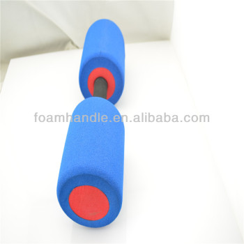 Colored weight barbell lifting rubber