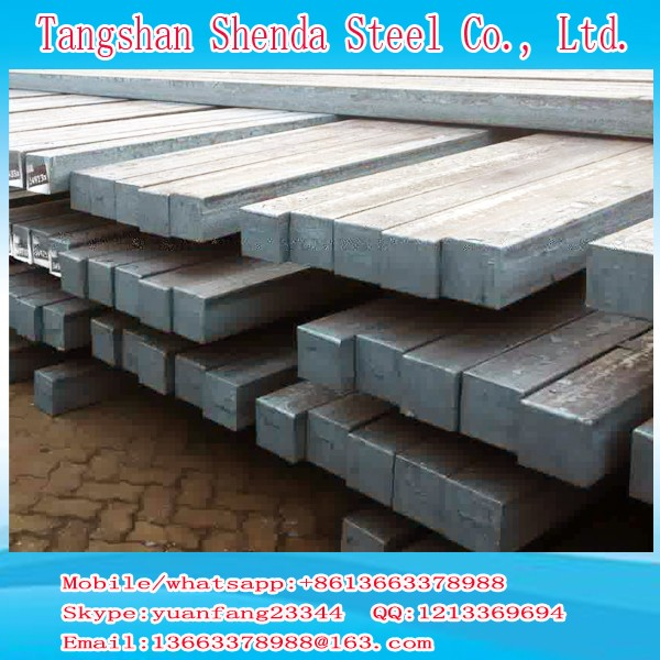 billet steel price Q235 Q275 Q255 3SP 5SP prime concast square steel billet size 100*100 120*120 130*130 150*150 made in china