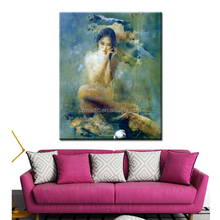 New Arrival Oil Painting Reproduction Abstract Nude Art Painting HD Canvas Prints Beautiful Girls Sex Painting Picture