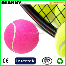 eco-friendly bottom price promotional tennis ball logo printing felt