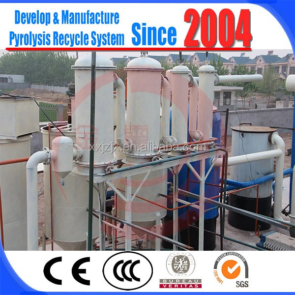 China supplier JZ Waste mineral oil black engine oil distillation recycling plant