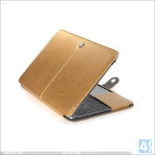Smart Leather Flip Wallet Case Cover For Apple iPad Air 2 with metal buckle