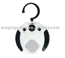 MK-503 white and black outdoor waterproof radio