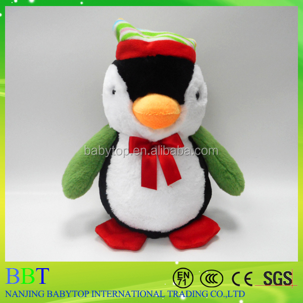 Cute Christmas Penguin with hats Stuffed & Plush Toy Nice Christmas Gift