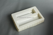 Thermoforming plastic tray for hardware