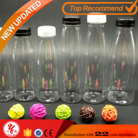 2016 wholesale China factory customized bottle 750ml 500ml plastic bottles juice bottles