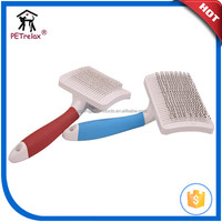 Pet Grooming Tools Saving Plastic Dog Massage Brush