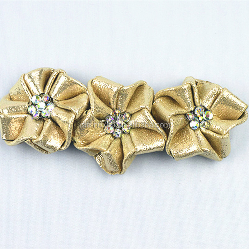 Fabric flower decoration/ handmade flower for ladies shoes
