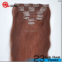tangle free no shed stock 100% human hair blonde peruvian virgin remy hair 30 inch hair extensions clip in
