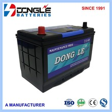 12V 75Ah supreme quality JIS N70z car battery