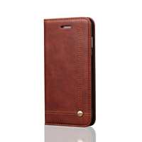 For Iphone 8 case,TOP Quality Vintage Retro Classic Magnetic Card Slot Wallet Leather Flip Phone Case For iPhone X