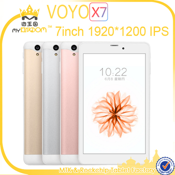 7inch 1920*1200 IPS Screen Dual 3G SIM Card 2GB/32B Phone Tablet pc VOYO X7