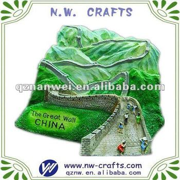 Chinese great wall souvenir sticker