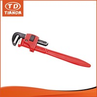 High Quality Steel Handle And Jaw Hardware Tool Perforated Pipe Wrench