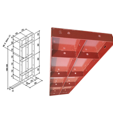 composite steel formwork for concrete columns