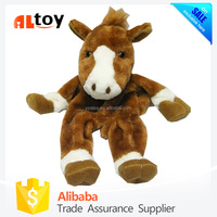 Animal Shaped Horse Plush Unstuffed Skin Toy