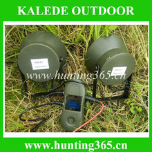 Wholesale goose decoy duck hunting device cp-391 with 50W speaker quail sounds bird sounds mp3