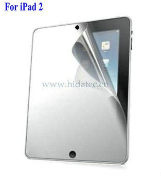 For ipad2 mirror screen film guard, mirror screen protector for ipad2 2, tablet mirror screen guard film for tablet