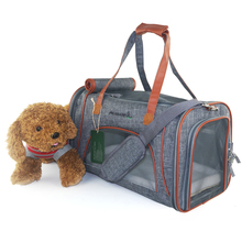hottest luxury airline approved low profile pet carrier bag