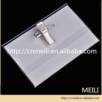 Plastic Id Badge Card Holder With