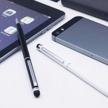 Wholesale stationery stylus pen for smart board metal ball pen with touch function