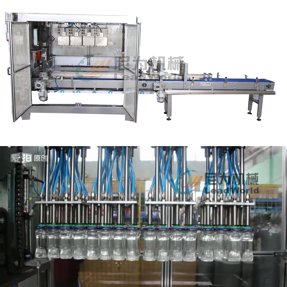 automatic stainless steel salad bottle jar carton packing machine