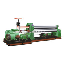 Mechanical sheet metal bending rolling machine, 3 rolls small sheet roller bending machine, sheet metal roller bending machine