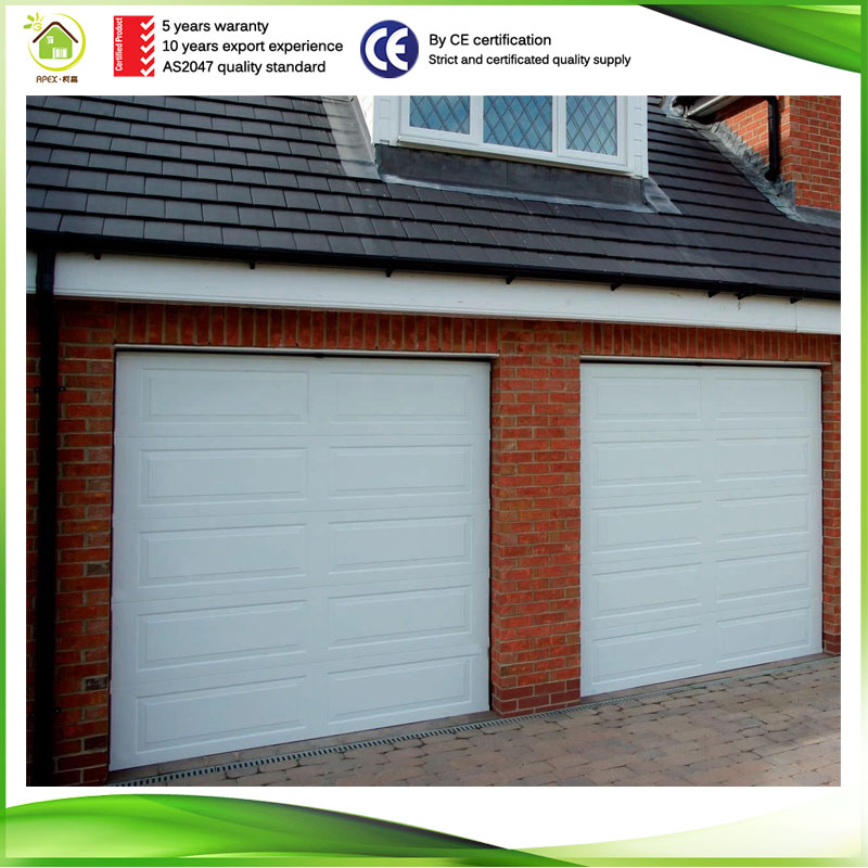 Best factory price Galvanized steel mutil colour automatic folding garage door for garage