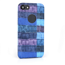 Fashion Design PU Leather Lagging Ultra Thin Case for iphone