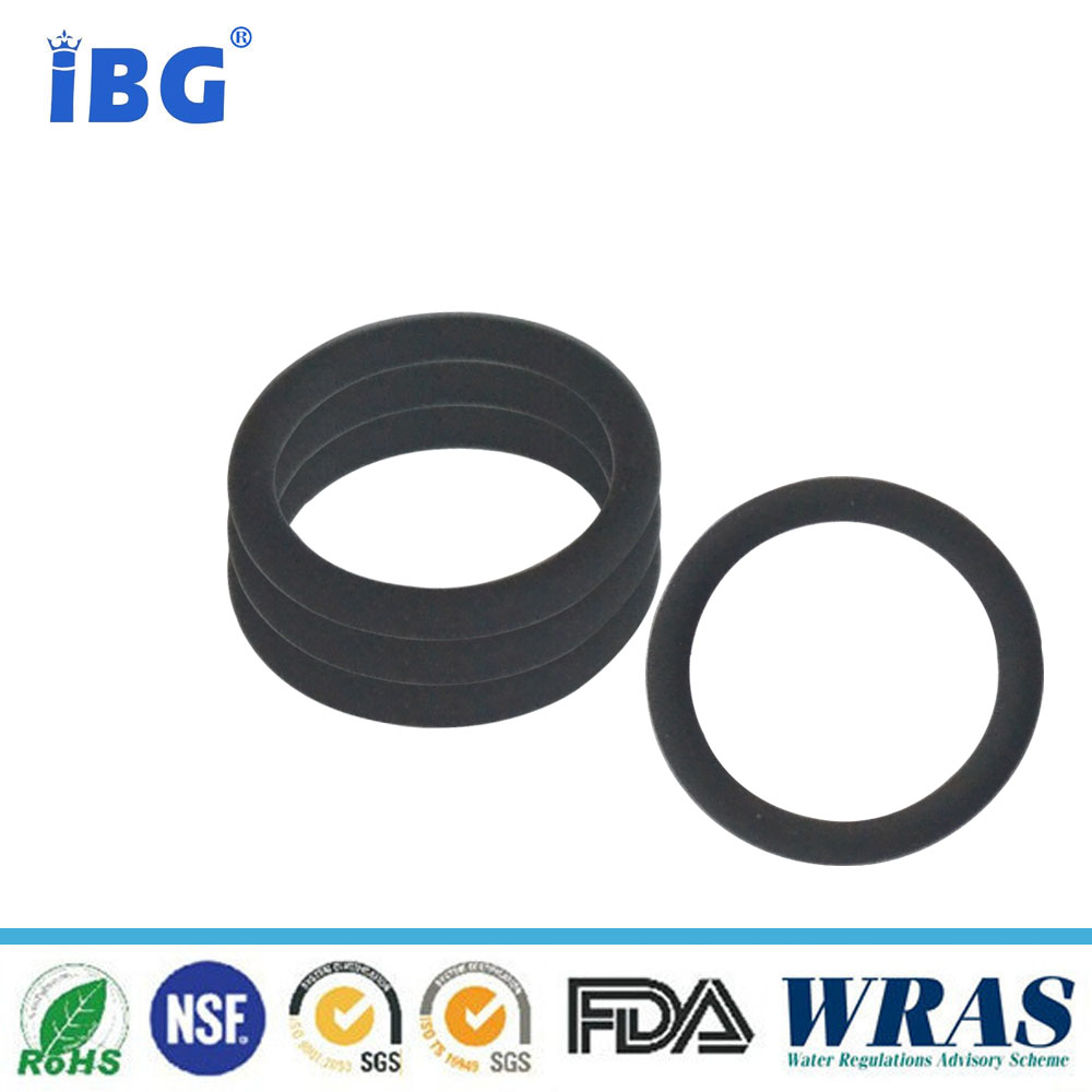 Valve use rubber seat ring with NBR FKM rubber material