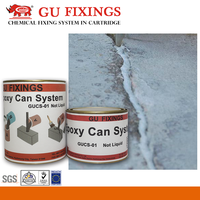 less liquid two-component epoxy resin sealant joint concrete crack repair