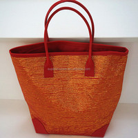 hot selling Colorful fashion woman paper straw hand bag