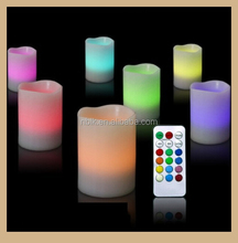 Remote Control Flameless Wax LED Candle