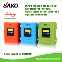 MPPT Solar Charge Controller 48V 60A with USB function,high efficiency, LCD display,with DC output current