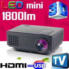 latest projector mobile phone Support HD TV Video LCD Digital HDMI USB Cinema 3D mini LED Projector Proyector Beamer