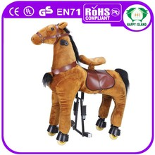 HI CE 2015 kiddie animal horse doll ,animal toy horse, horse for sale