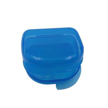 Plastic Teeth Whitening Mouth Tray box For Storage, denture case