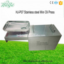 220V/110V Olive oil mill machinery Stainless steel home used palm oil mill plant HJ-P07