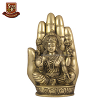 Factory custom made resin brass Lakshmi statue Lakshimi figurine
