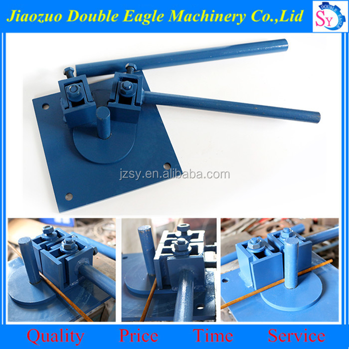 construction tools small rebar stirrup bending machine/manual Round Steel Bar press brake machine manufacturers