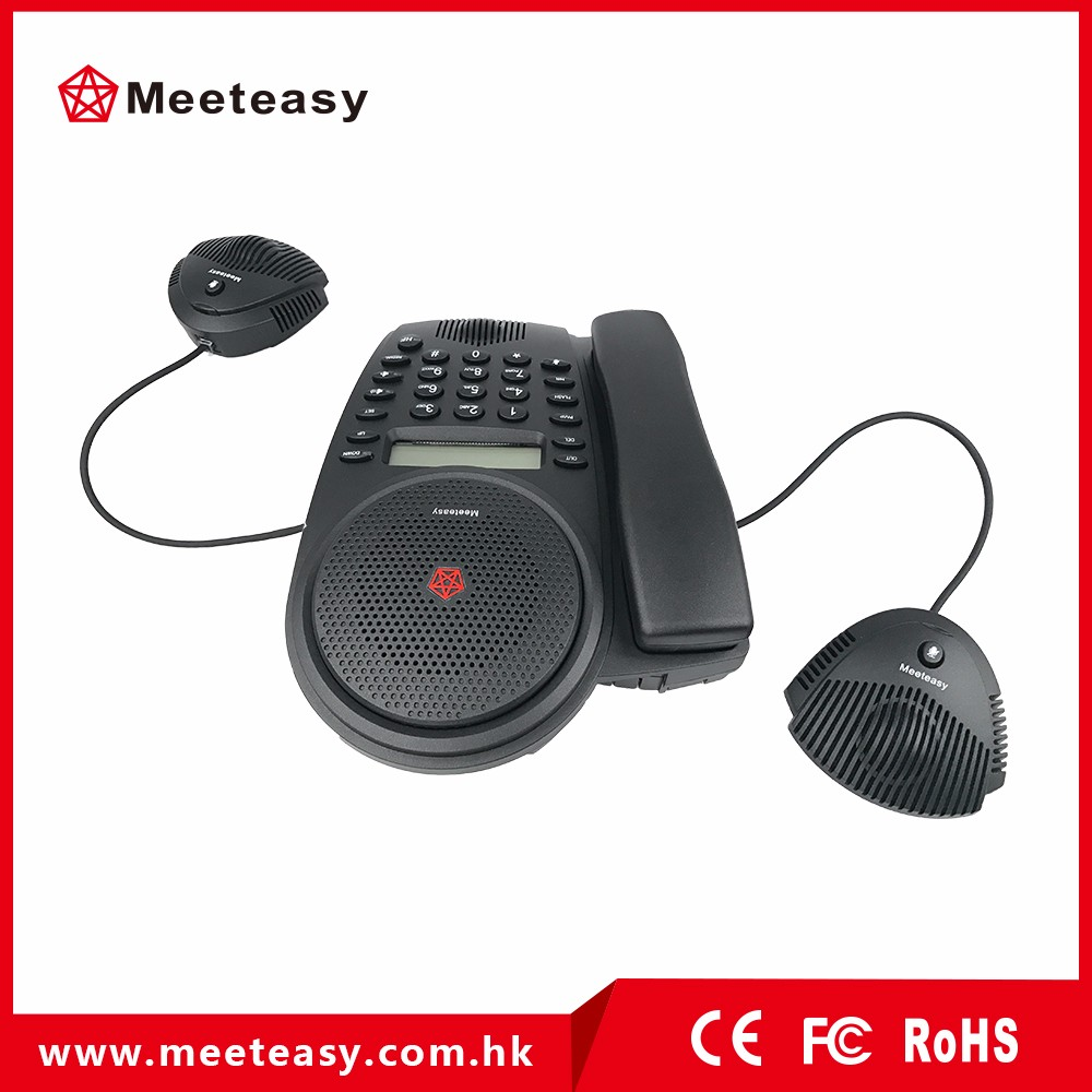 hands free conference phone for audio conferencing system