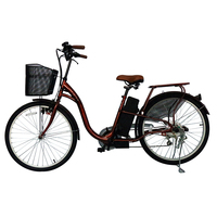 Latest Power Li Ion Rechargeable Electric Bicycle