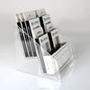 Two Tiers Clear Acrylic Eyelash Display Stand
