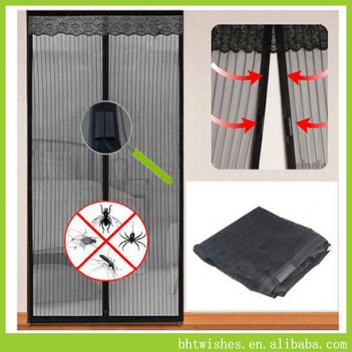 door mesh ,BHT012 anti bug insect fly magnetic screen door