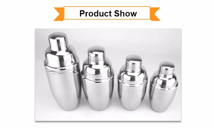 750 ml Stainless Steel Cocktail Shaker Gift With Good Service